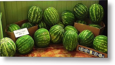 If I Had A Watermelon Metal Print by Patricia Greer