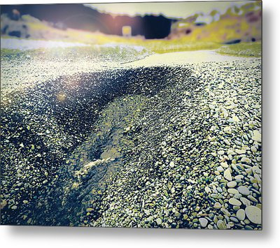 Metal Print featuring the photograph If It Weren't For The Rocks... by Zinvolle Art