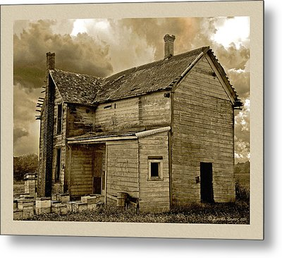 If The House Is Rockin' . . . Metal Print by Everett Bowers