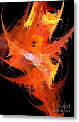 Ignite Metal Print