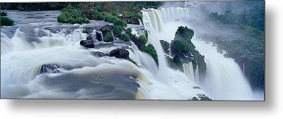 Iguazu Falls, Iguazu National Park Metal Print by Panoramic Images