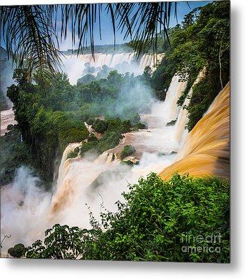 Iguazu Natural Wonder Metal Print