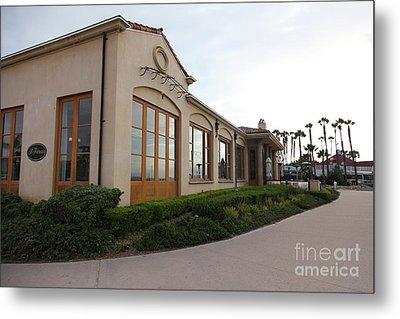 Il Fornaio Italian Restaurant In Coronado California 5d24362 Metal Print by Wingsdomain Art and Photography