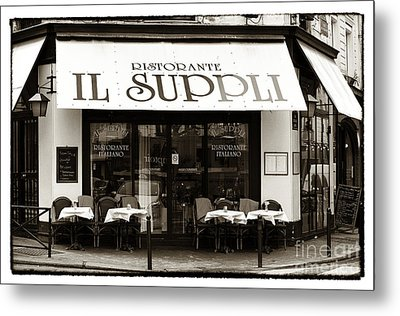 Il Suppli Metal Print by John Rizzuto