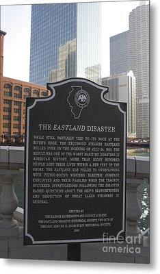 Il001 - The Eastland Disaster Metal Print by Jason O Watson