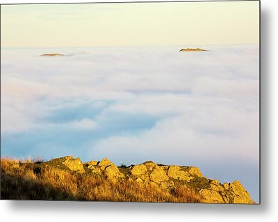 Ill Bell And The Kentmere Fells Metal Print by Ashley Cooper