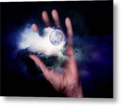 I'll Take Down The Moon For You Metal Print by Gun Legler