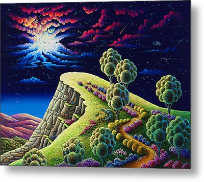 Illumination Point Metal Print by Andy Russell