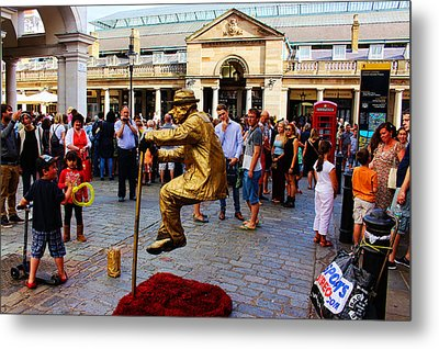 Illusion Covent Garden Metal Print by Nicky Jameson