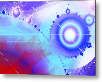 Illusion Of Time Metal Print