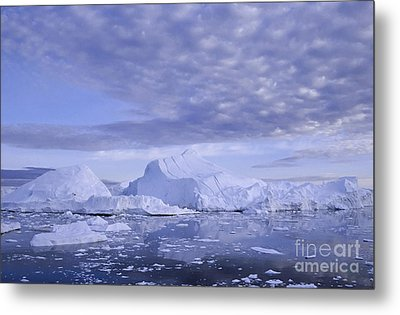 Metal Print featuring the photograph Ilulissat Icefjord Greenland by Rudi Prott
