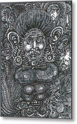 I'm All Ears Metal Print by Giovanni Caputo