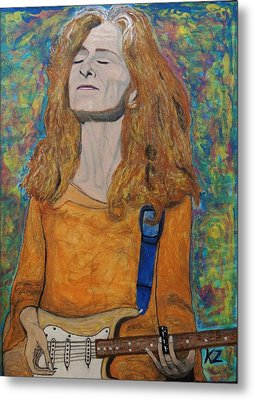 I'm In The Mood For Bonnie Raitt. Metal Print by Ken Zabel