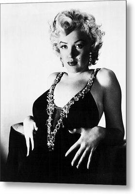 Marilyn Monroe Eyes Metal Print by Retro Images Archive