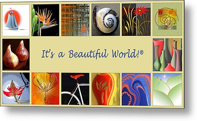 Image Mosaic - Promotional Collage Metal Print by Ben and Raisa Gertsberg