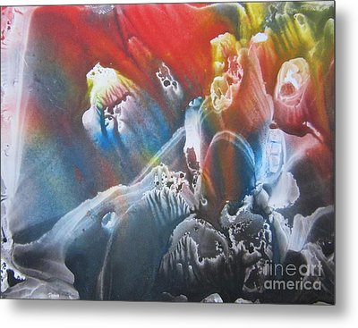 Metal Print featuring the painting Imagination 1 by Vesna Martinjak