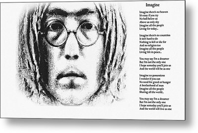 Imagine Metal Print by Bill Cannon