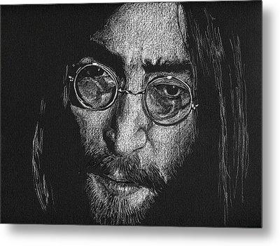 Imagine - John Lennon Metal Print