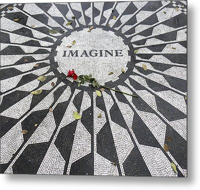 Imagine Mosaic Metal Print by Mike McGlothlen