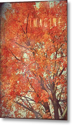 Imagine Metal Print by Robin Dickinson