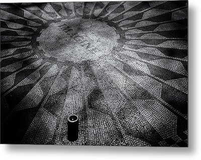 Metal Print featuring the photograph Imagine - Strawberry Fields by James Howe