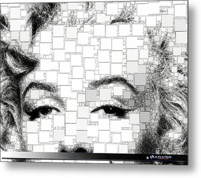 iMarilyn 009 Metal Print by A Dx