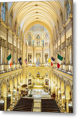 Immaculate Conception Jesuit Church - New Orleans Metal Print by Andy Crawford
