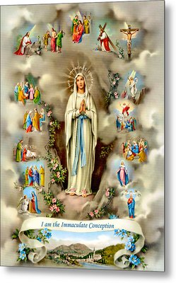 Immaculate Conception Metal Print by Munir Alawi