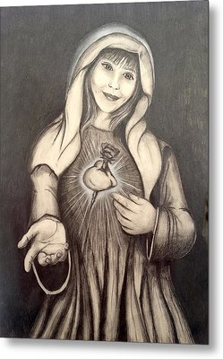 Immaculate Heart Metal Print