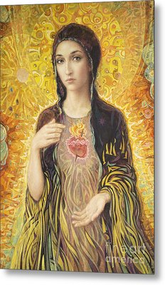Immaculate Heart Of Mary Olmc Metal Print by Smith Catholic Art