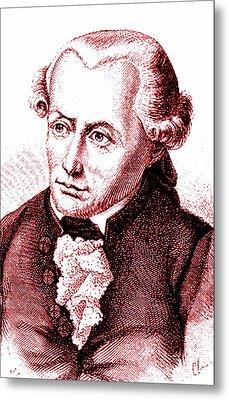 Immanuel Kant Metal Print