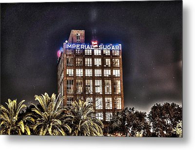 Imperial Sugar Mill Metal Print