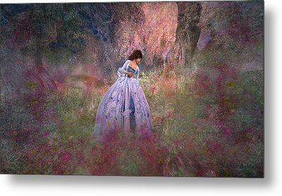 Impression Metal Print by Kylie Sabra