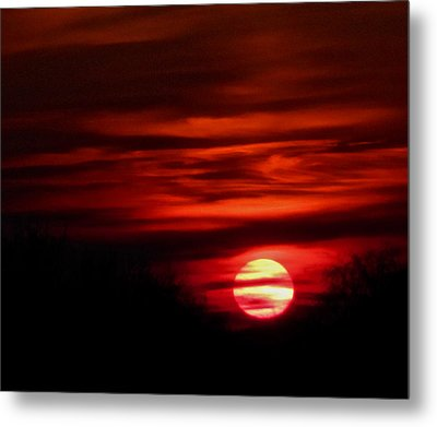 Impression Sunset Metal Print