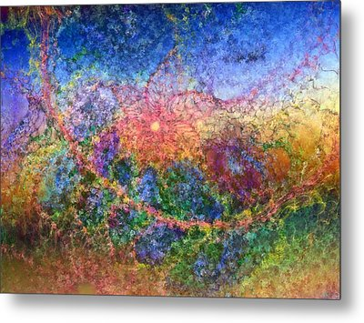 Metal Print featuring the digital art Impressionist Dreams 1 by Casey Kotas