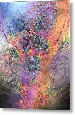 Metal Print featuring the digital art Impressionist Dreams 2 by Casey Kotas