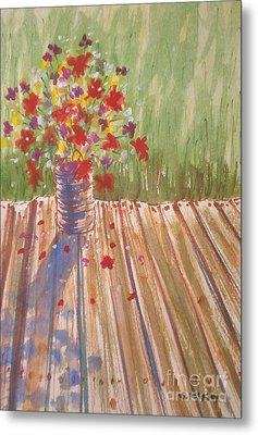 Metal Print featuring the painting Impromptu Bouquet by Suzanne McKay