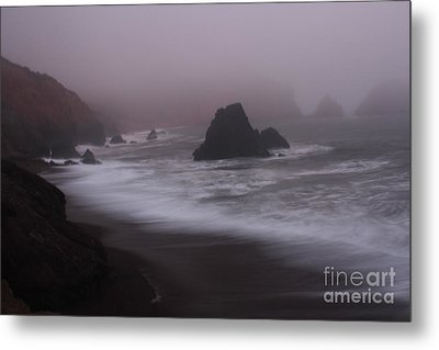 In A Fog Metal Print by Suzanne Luft