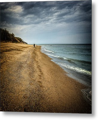 In All Things You Do Consider The End Metal Print by Jeff Burton