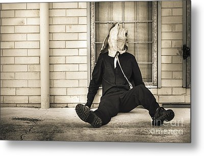 In Bliss Of Ignorance Metal Print