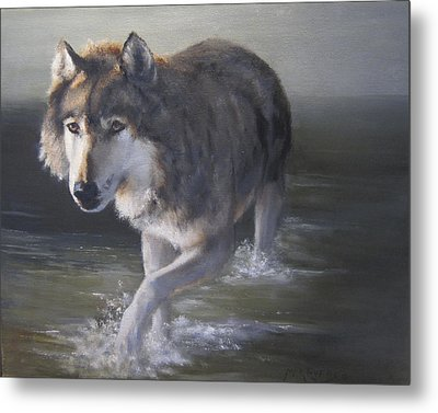 In Controversial Waters  Metal Print by Mar Evers