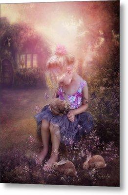 In Fairy Tales Metal Print by Cindy Grundsten