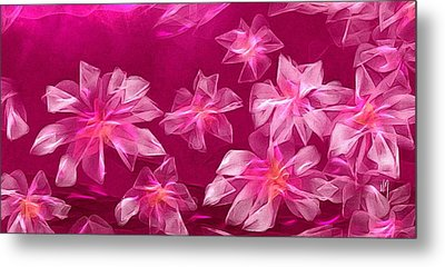 In Flower Metal Print