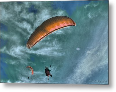 Metal Print featuring the photograph In Heaven by Julis Simo