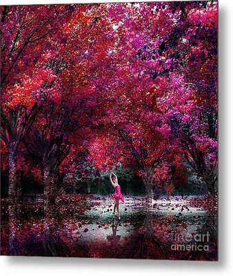 In Her Dreamworld Metal Print by Jacky Gerritsen
