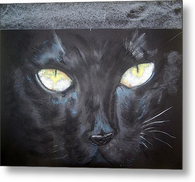In Hiding Metal Print