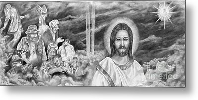 In His Kingdom Metal Print