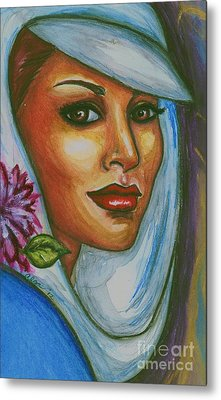 Metal Print featuring the mixed media In Living Color by Alga Washington