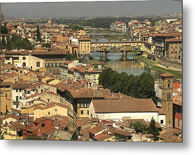 In Love With Firenze - 1 Metal Print