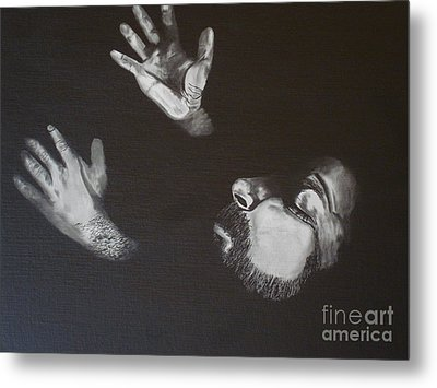 Metal Print featuring the painting In Memory Of My Father by Stuart Engel